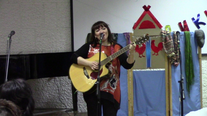 Ирина Антонова Зима (К. Малыгина) и Скрипка (Я. Симон)