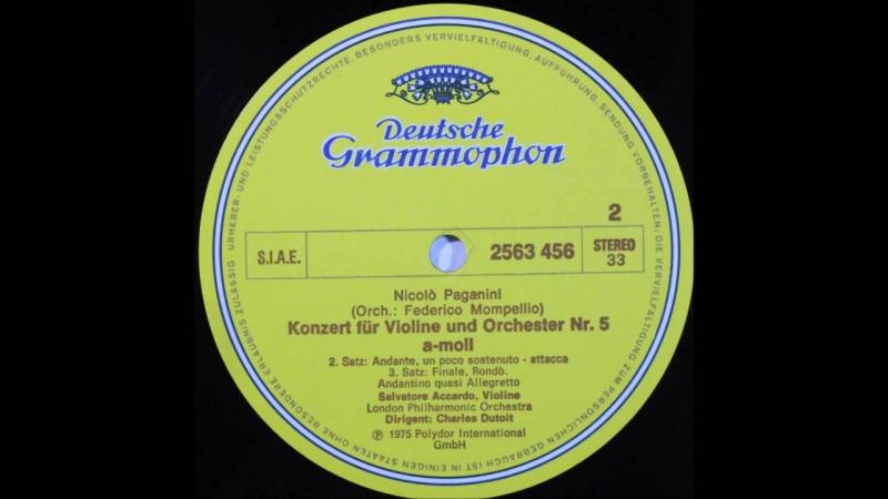 Paganini, violin concerto no 5, 2,3mov, salvatore accardo, violin(1)
