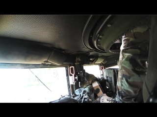 GoPro Видео из хаммера, отстрел из минигана. Hummer H1 Minigun shootout.