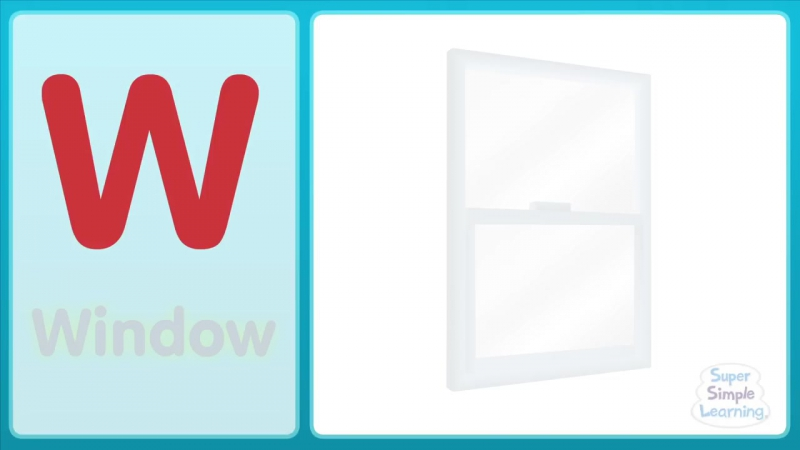 The W Song (Uppercase) - Alphabet Song - Super Simple ABCs