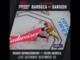 #UFC219 KO of the Week: Edson Barboza vs. Benil Dariush
