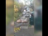 Когда твой двор превратили в улицу. Якутск. 12.09.2017