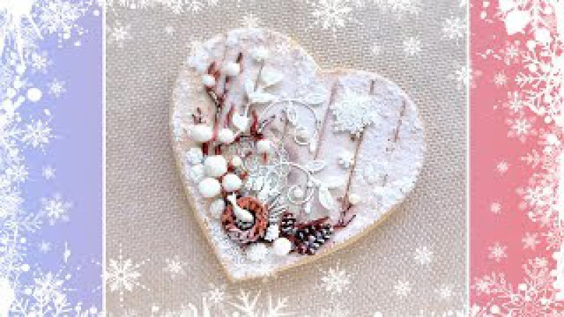 Winter Fairy Tale Cookie Card❄️❄️❄️