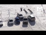 Видео о том, как непросто жителям Челябинска найти себе место для парковки.