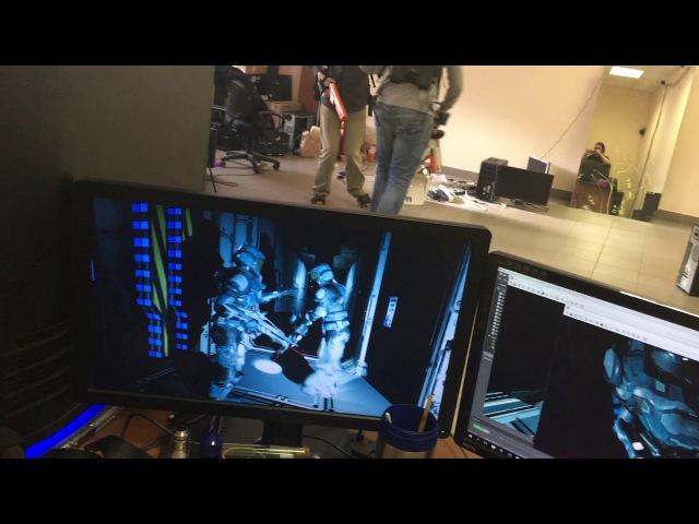 Первые танцы в виртуальной реальности
