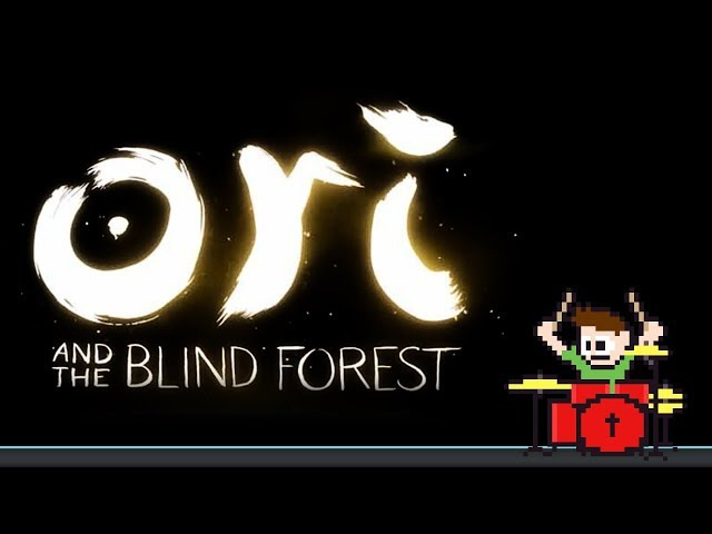 Ori and the Blind Forest - Light of Nibel (Blind Drum Cover) -- The8BitDrummer