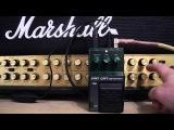 Ibanez FC10 FAT CAT Vintage Distortion Pedal Test, RAT Clone, Made in Taiwan by Maxon.