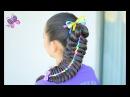 Trenza Arcoiris Peinados con Trenzas Peinados para Niñas Chikas Chic