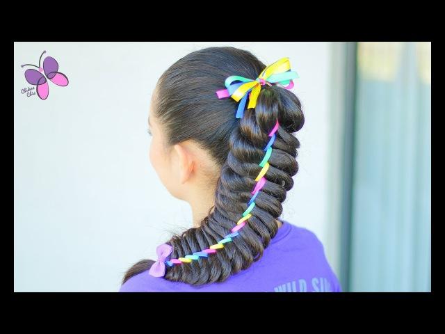 Trenza Arcoiris | Peinados con Trenzas | Peinados para Niñas | Chikas Chic