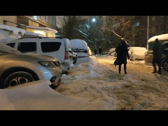 Зима в Гагаринском. Вавилова. 5.02.2018.