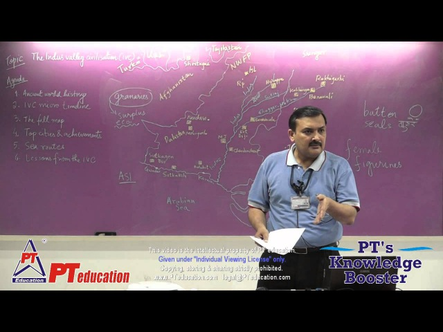 The Indus Valley Civilisations - PT's Knowledge Booster 2014-15 - Session 8 (15 min excerpt)