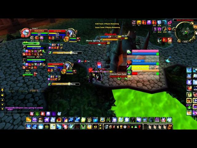 Drainerx: Ele(mm/surv)Hunter,Pala/Druid [AT] Ft. Fnoberz,Chimerazz,Zkii