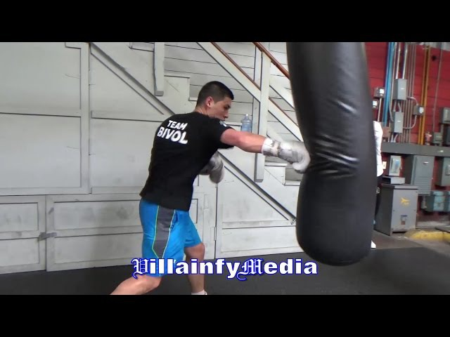 DMITRY BIVOL RIPPS THE HEAVYBAG; DEFENDS INTERIM WBA 175LBS TITLE ON APRIL 14TH