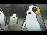 Star Wars Forces of Destiny Porg Problems Disney