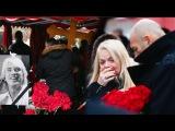 На похоронах Дмитрия Хворостовского Лариса Долина рыдала сильнее жены