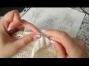 Филейное вязание петлеуловителем