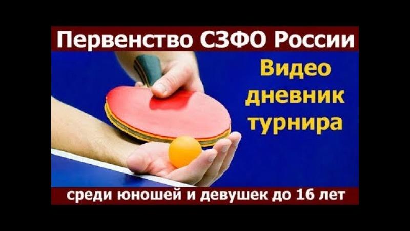 Первенство СЗФО среди кадетов 2003г р в 2018 году Петрозаводск настольный теннис Медиа