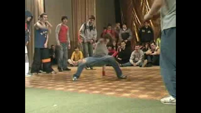 Запорожская Битва Берегов 2002 год EastSideBboys Kinder Minik Bulka Gimnast