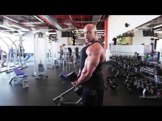 Victor Martinez. | Тренировка дельт, плеч, на форму | SB 14