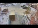 Cломал лавочку и скрылся. 21.12.2017 Бийск