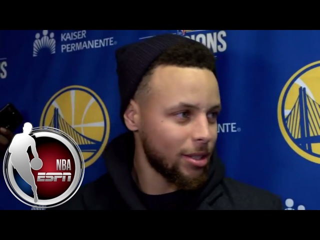 Stephen Curry jokes about his dunk vs Cavs 'Somebody said it was like a unicorn sighting' ESPN