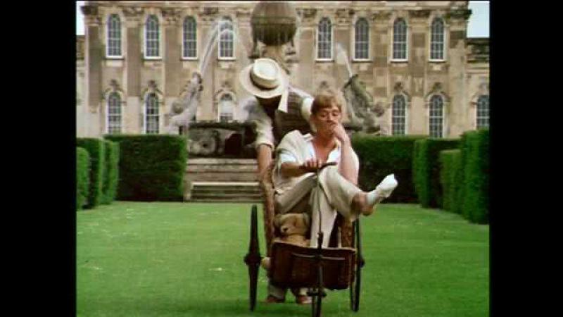 Charles and Sebastian Alone in Brideshead