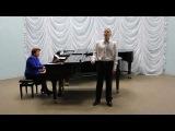Испанская народная песня в обработке Хабанера Исп. Щербаков Дмитрий (4 ДХО)