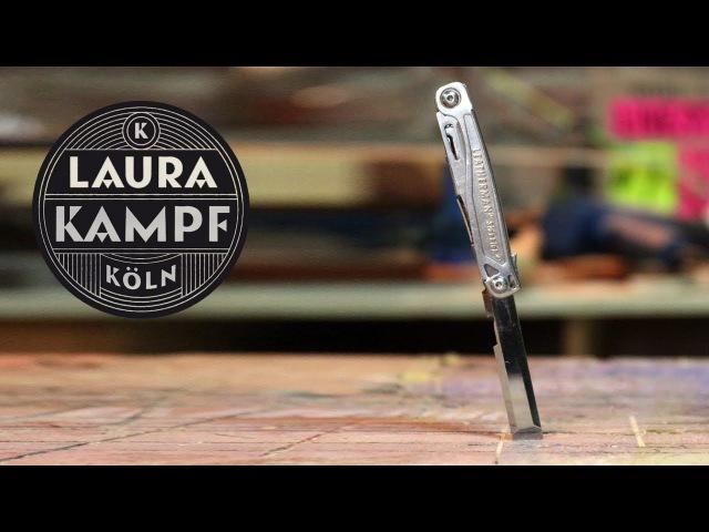 Многофункциональный нож со стамеской из мультитула LEATHERMAN SIDEKICK