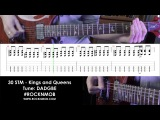 Guitar lesson (tutorial/tabs) 30 Seconds to Mars - Kings and Queens (Rocknmob)