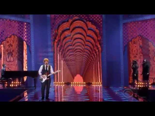 Ed Sheeran: Thinking Out Loud (Victoria's Secret Fashion Show 2014 - sottotitolato)