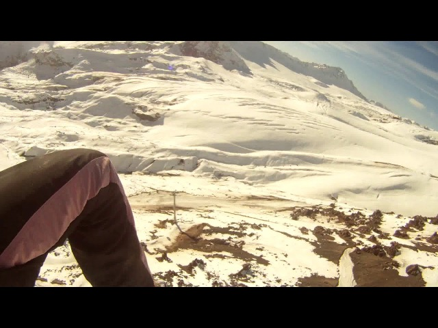 Зимний Эльбрус