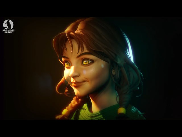 ZULA - Real-Time Character in Unreal Engine 4