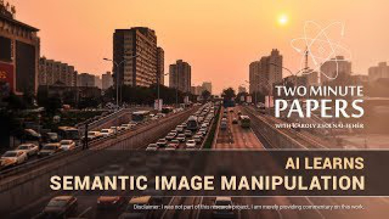 AI Learns Semantic Image Manipulation | Two Minute Papers 217