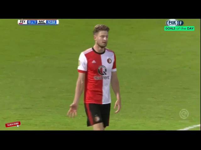 Feyenoord vs NAC Breda 0-2 Highlights 23/09/2017
