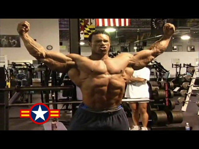 Kevin Levrone Chest Shoulders Workout For 2002 Mr Olympia YouTube 720p