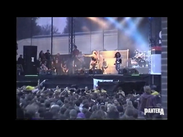 Pantera - Becoming (SBD AUDIO) @ Live at Dynamo Open Air - Netherlands (1998)