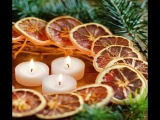 Цитрусовый декор для елки. Citrus decor for the Christmas tree