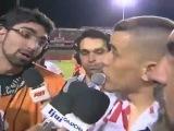 D'Alessandro se irrita com jornalista ap