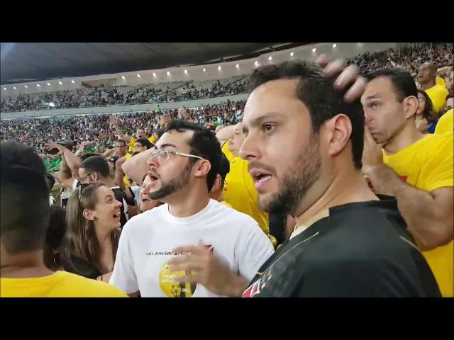 Julio Brant acompanha Vasco x Botafogo no meio da torcida