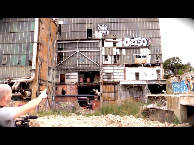 Exploring a Giant Abandoned Paper Mill Factory