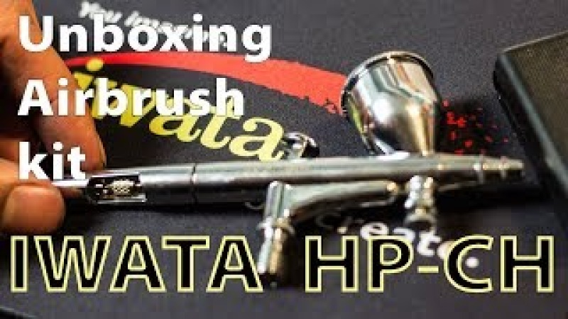 IIwata Airbrush HP-CH Unboxing Review | Cleaning and Maintenance kit