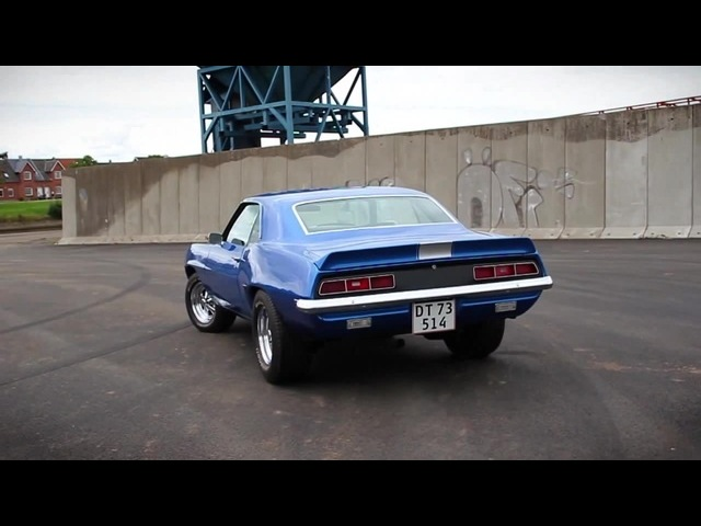 1969 Camaro RS/SS - With slowmotion burnout