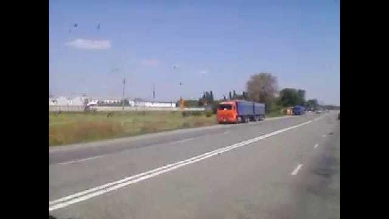 Зерновозы КамАЗ (6520 и 53215)