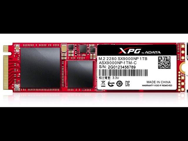 Adata называет XPG SX9000 своим самым быстрым твердотельным накопителем
