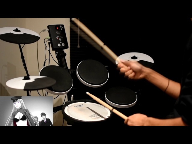 Noragami Aragoto OP -【Kyouran Hey Kids!! (狂乱Hey Kids!!)】by THE ORAL CIGARETTES - Drum Cover
