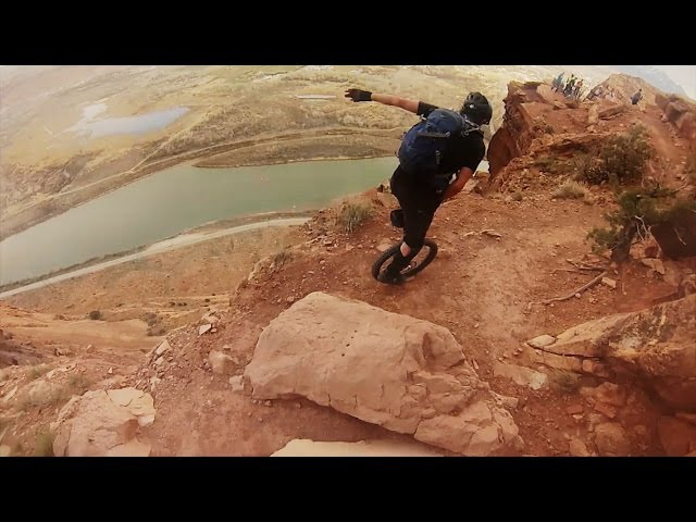 GoPro Unicycling Moab