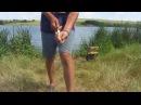 моё первое видео про рыбалку карасики к чаю