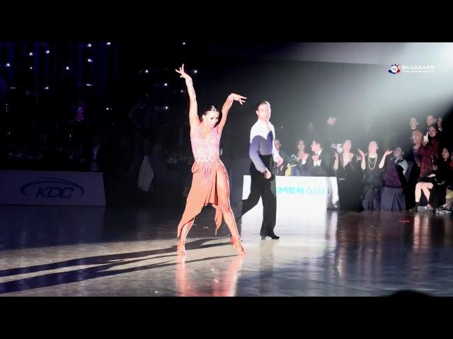 Krill Belorukov Polina Teleshova chachacha (korea open 2018)