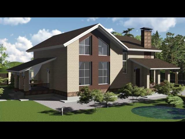 Ролик 3D Визуализации дома » Freewka.com - Смотреть онлайн в хорощем качестве