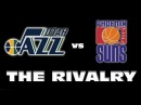 PHOENIX SUNS VS UTAH JAZZ THE RIVALRY 1992